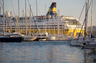 "Notre ferry, le ""Méga Express"""